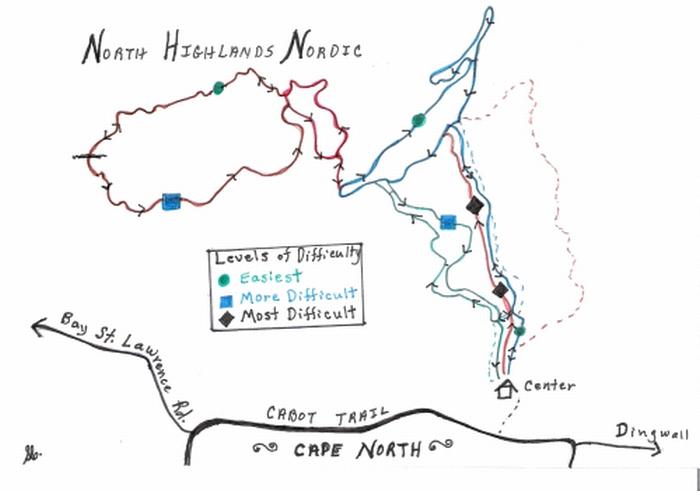 NHN Trail Map